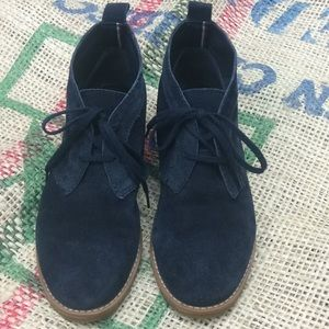 Tommy Hilfiger Blaze Oxford booties Navy suede 7M